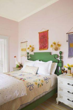 Casual vintage farmhouse bedroom ideas 03
