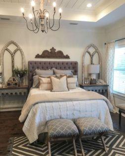 Casual vintage farmhouse bedroom ideas 07