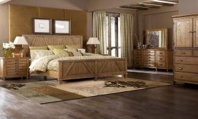 Casual vintage farmhouse bedroom ideas 24