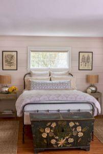 Casual vintage farmhouse bedroom ideas 27