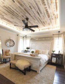 Casual vintage farmhouse bedroom ideas 29