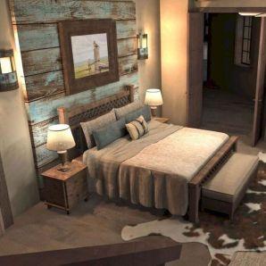 Casual vintage farmhouse bedroom ideas 35