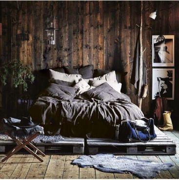 Cozy farmhouse master bedroom decoration ideas 23
