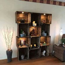 Creative ideas for repurposing old crates that are worth stealing 10