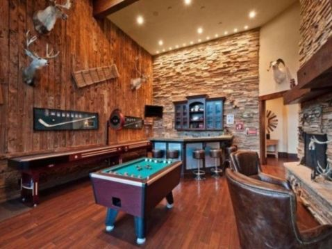 47 Impressive Masculine Game Room Decor Ideas Roundecor
