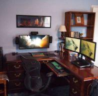 Impressive masculine game room decor ideas 05