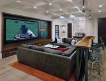 Impressive masculine game room decor ideas 12