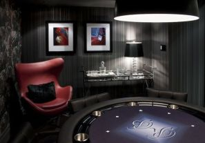 Impressive masculine game room decor ideas 32