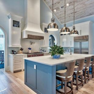 Inspiring coastal kitchen design ideas 10