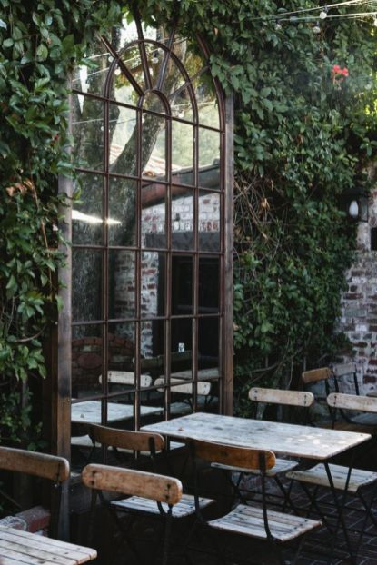 Inspiring outdoor garden wall mirrors ideas 12