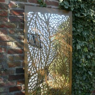 Inspiring outdoor garden wall mirrors ideas 13