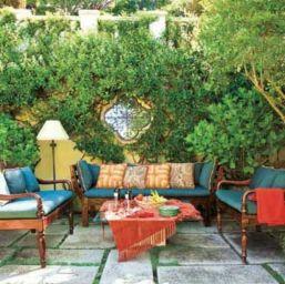 Inspiring outdoor garden wall mirrors ideas 32