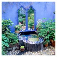 Inspiring outdoor garden wall mirrors ideas 37
