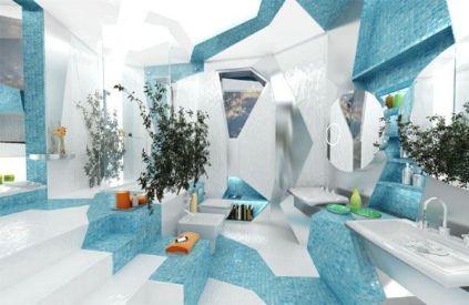Luxurious bathroom designs ideas that exude luxury 11
