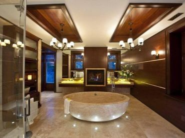 Luxurious bathroom designs ideas that exude luxury 27