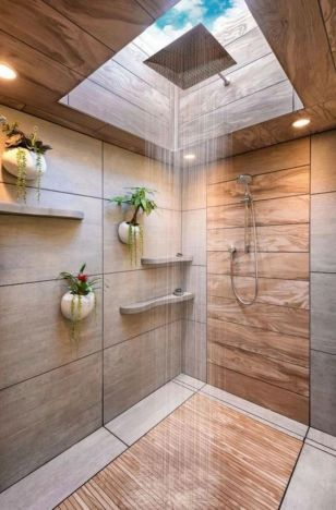 Luxurious bathroom designs ideas that exude luxury 38