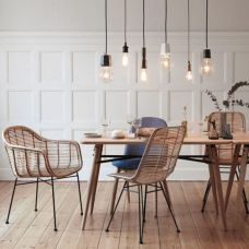 Modern scandinavian dining room chairs design ideas 06