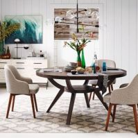 Modern scandinavian dining room chairs design ideas 07