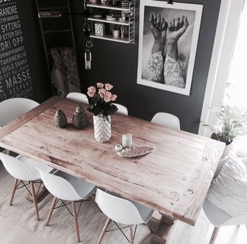 Modern scandinavian dining room chairs design ideas 08
