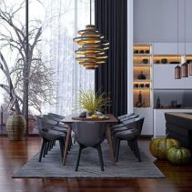 Modern scandinavian dining room chairs design ideas 16