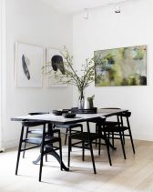 Modern scandinavian dining room chairs design ideas 20