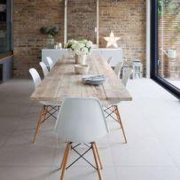 Modern scandinavian dining room chairs design ideas 29