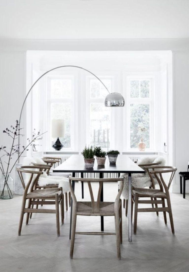 Modern scandinavian dining room chairs design ideas 31