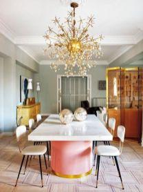 Modern scandinavian dining room chairs design ideas 35