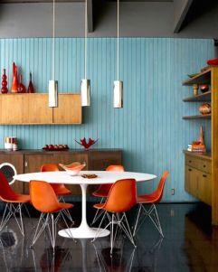 Modern scandinavian dining room chairs design ideas 37