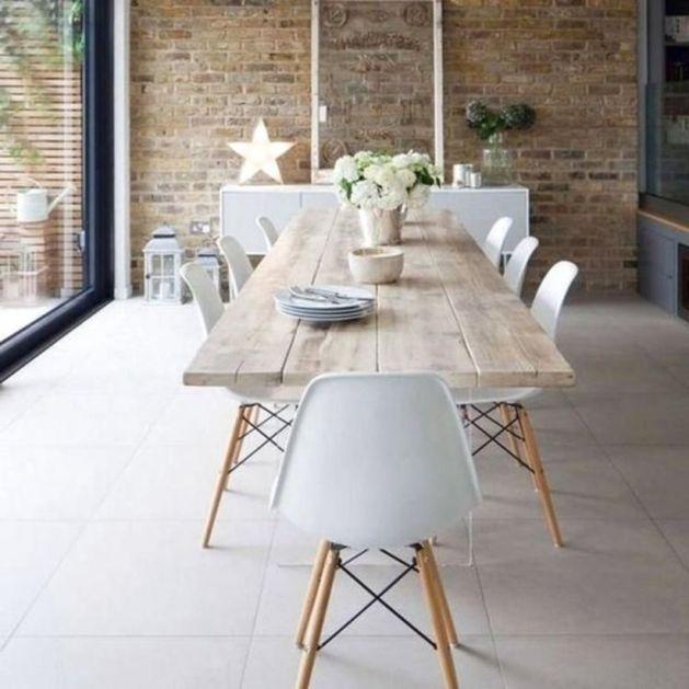 Modern scandinavian dining room chairs design ideas 41