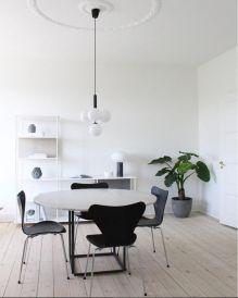Modern scandinavian dining room chairs design ideas 45