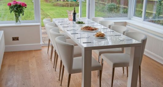Perfect extandable dining table design ideas 01