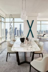 Perfect extandable dining table design ideas 02