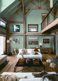 Pretty bedroom designs ideas with exposed wooden beams 27