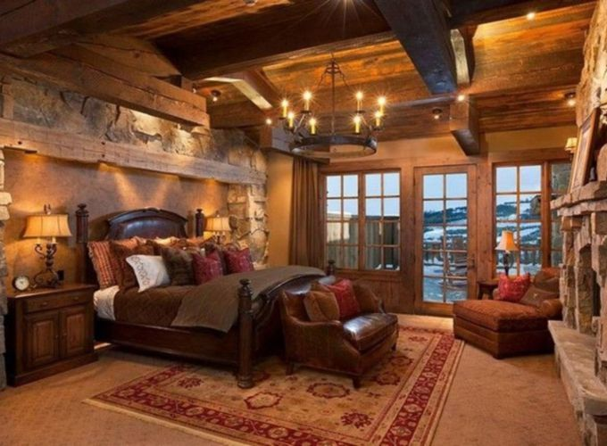 Romantic rustic bedroom ideas 36