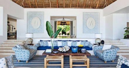 Stylish coastal living room decoration ideas 09