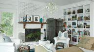 Stylish coastal living room decoration ideas 13