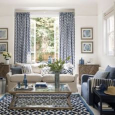 Stylish coastal living room decoration ideas 28