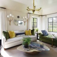 Stylish coastal living room decoration ideas 36