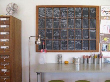 Unique practical chalkboard decor ideas for your kitchen 01