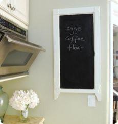 Unique practical chalkboard decor ideas for your kitchen 14