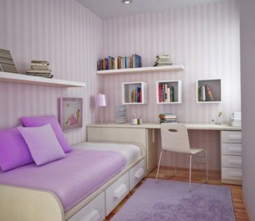 Unordinary space saving design ideas for small kids rooms 15