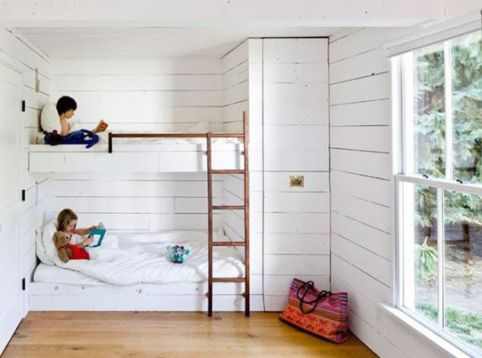 Unordinary space saving design ideas for small kids rooms 19
