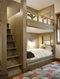 Unordinary space saving design ideas for small kids rooms 24
