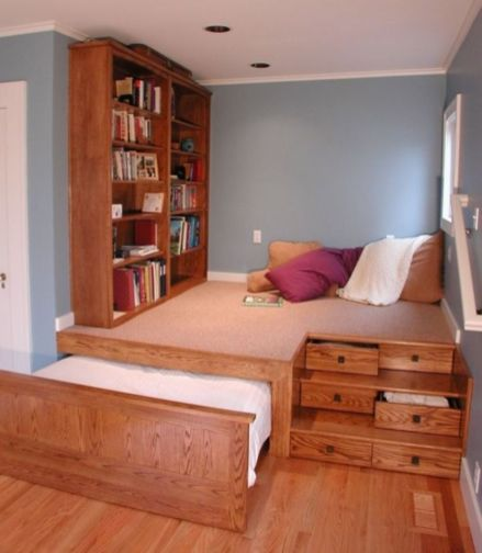 Unordinary space saving design ideas for small kids rooms 25