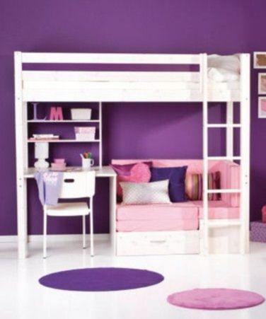 Unordinary space saving design ideas for small kids rooms 41