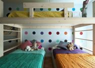 Unordinary space saving design ideas for small kids rooms 43