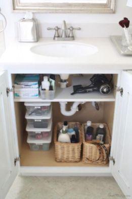 Simple bathroom storage ideas 12