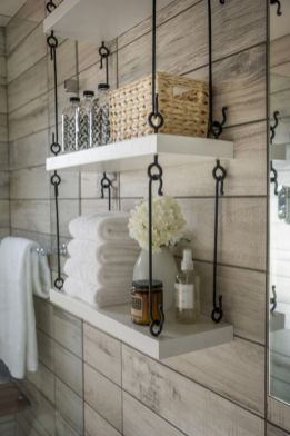Simple bathroom storage ideas 15