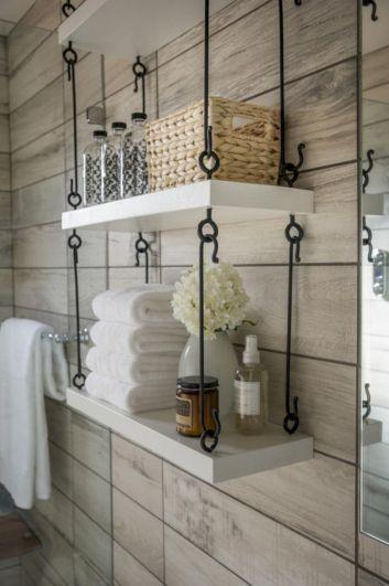Simple bathroom storage ideas 15